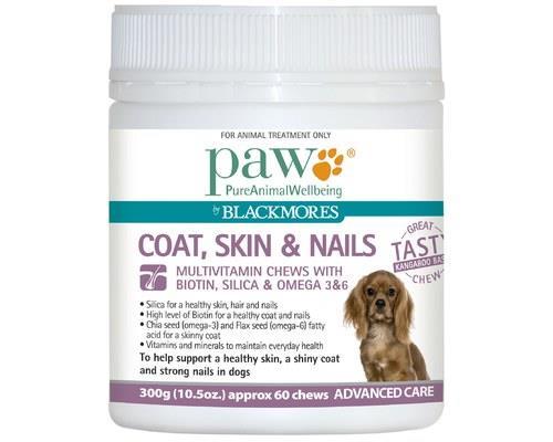 Paw Coat Skin & Nails Dog Multivitamin 300g
