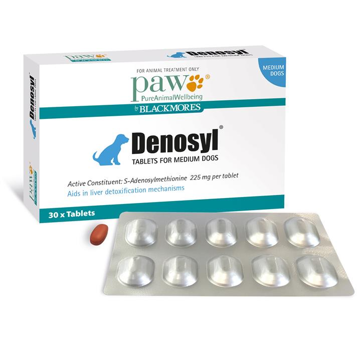 Paw Denosyl Tablets Medium 30 pack