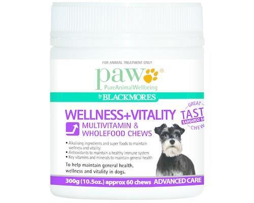 Paw Wellness & Vitality Dog Chews 300g