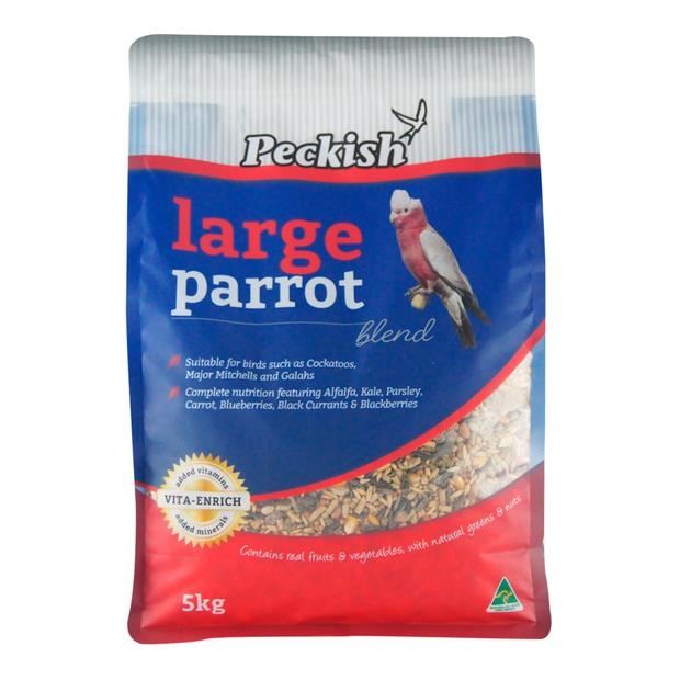 Peckish Large Parrot Blend 5kg