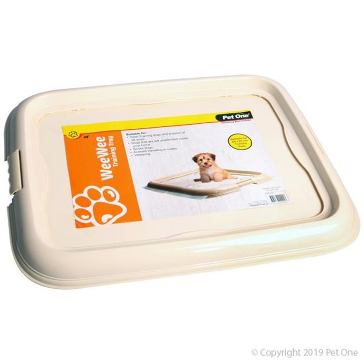 Pet One Wee Wee Dog Toilet Training Pad Tray
