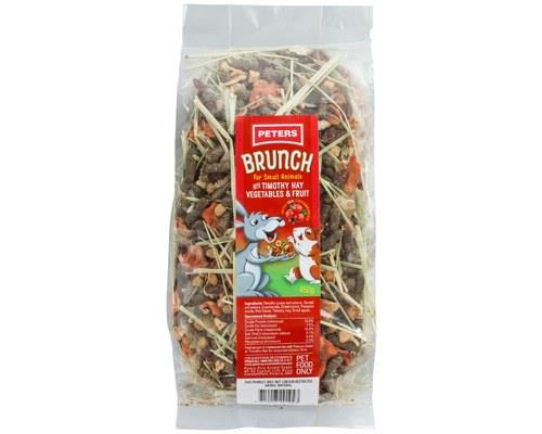 Peters Brunch with Timothy Hay Vegetables & Fruit Treat 450g