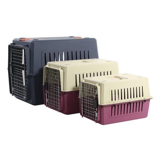 Petset Dog and Cat Pet Carrier Crate Medium (Blue)