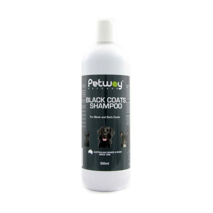 Petway Petcare Black Coats Dog Shampoo 500ml