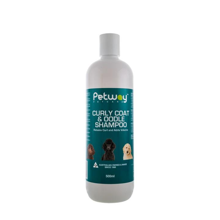 Petway Petcare Curly Coat & Oodle Dog Shampoo 500ml