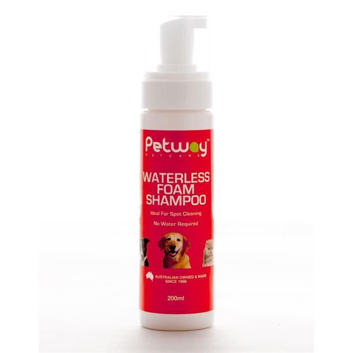 Petway Petcare Waterless Foam Dog Shampoo 200ml