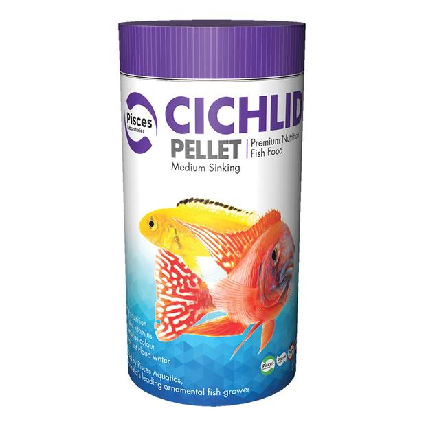 Pisces Laboratories Cichlid Pellet Medium 300g