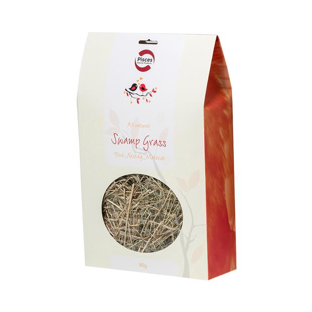 Pisces Natural Products Nest Material Swamp Grass 80 Pack