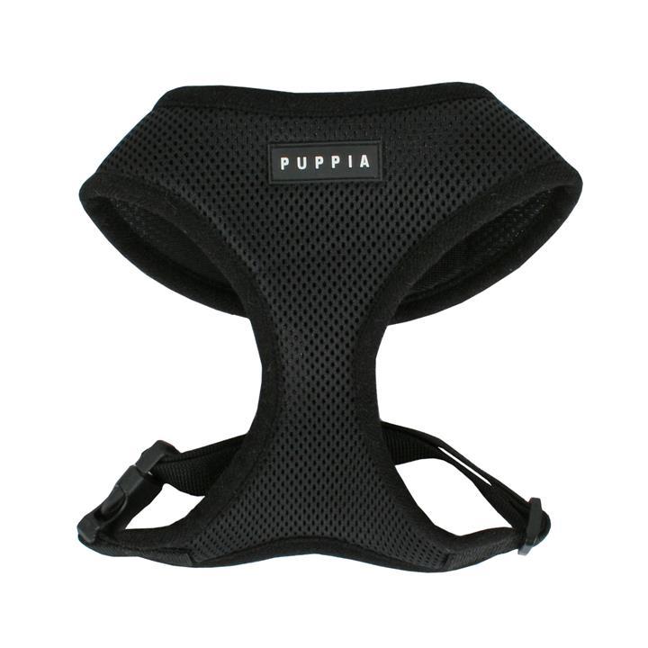 Puppia Dog Soft Harness Black XL