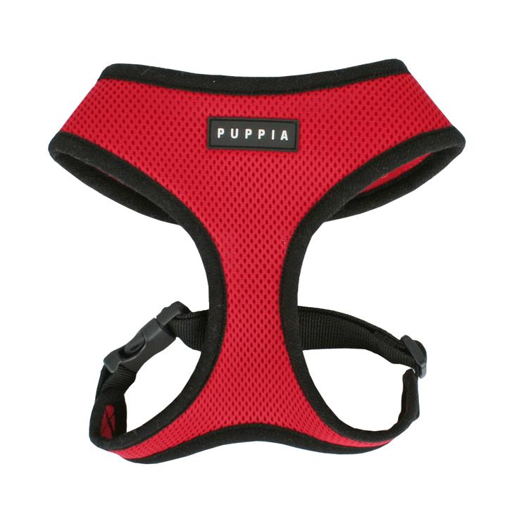 Puppia Dog Soft Harness Red