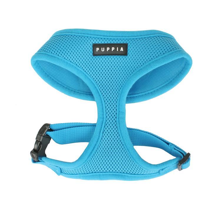 Puppia Dog Soft Harness Sky Blue L