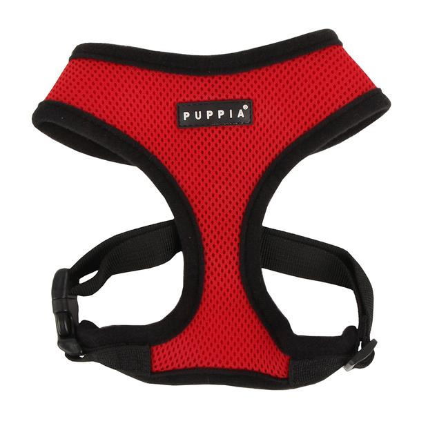 Puppia Soft Harness Red X Small