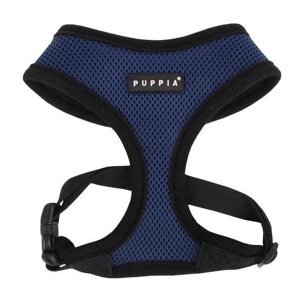 Puppia Soft Harness Royal Blue X Small