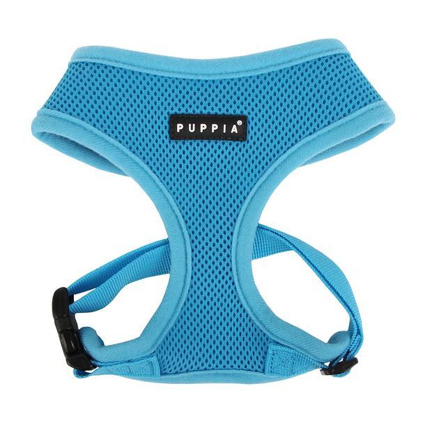 Puppia Soft Harness Sky Blue X Large