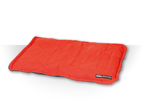 Purina Petlife Self Warming Throw Pad Med/Lge Red / Charcoal