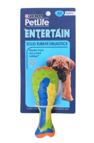 Purina Petlife Solid Rubber Drumstick