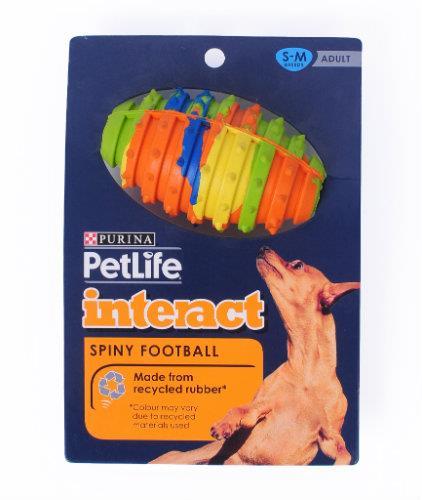 Purina Petlife Spiny Football