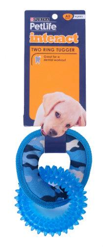 Purina Petlife Two Ring Tugger- Blue