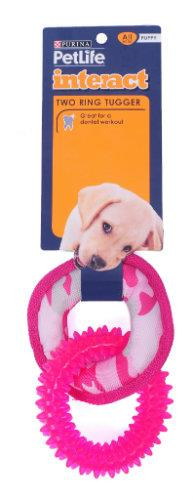 Purina Petlife Two Ring Tugger - Pink