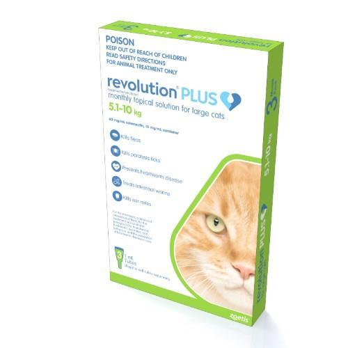 Revolution Plus Large Cat 5.1-10kg 3 pack