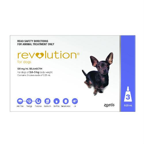 Revolution Purple Extra Small 2.6-5kg 3 pack