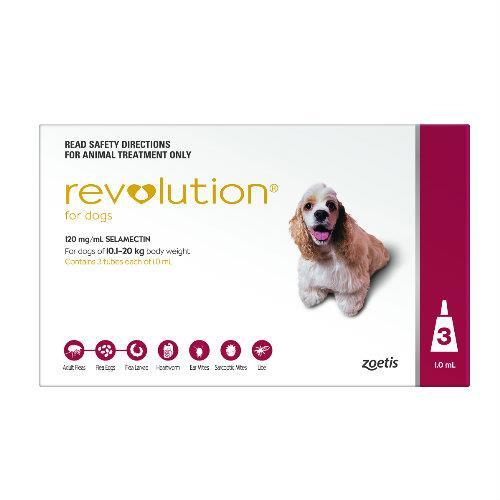 Revolution Red Medium 10-20kg 3 pack