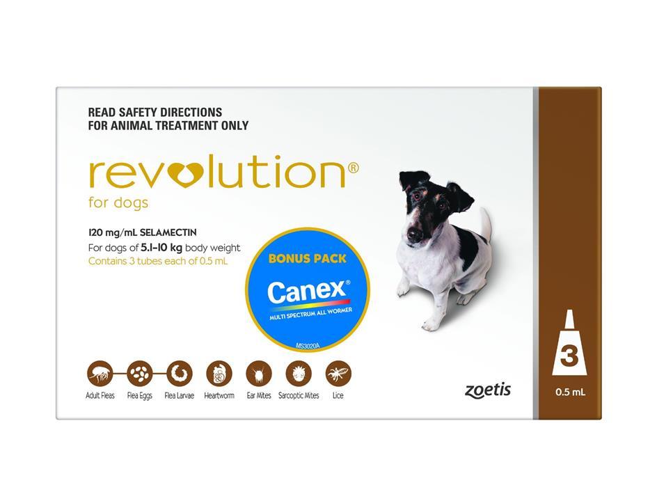 Revolution for Dogs 5-10kg