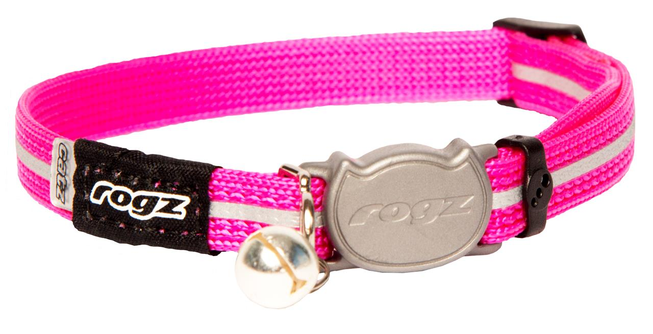 Rogz Alleycat 8mm Kitten Safeloc Collar Pink