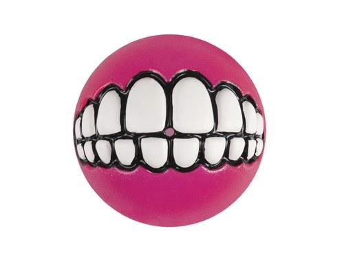 Rogz Grinz Ball Small Pink 4.9cm