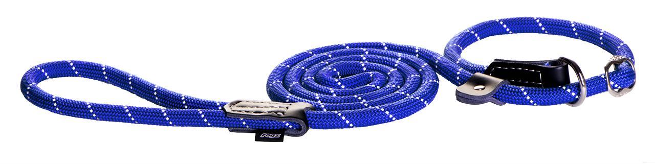 Rogz Moxon Rope Lead 1.8m Blue
