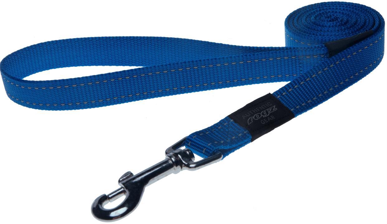 Rogz Utility Fanbelt Large Dog Lead Blue