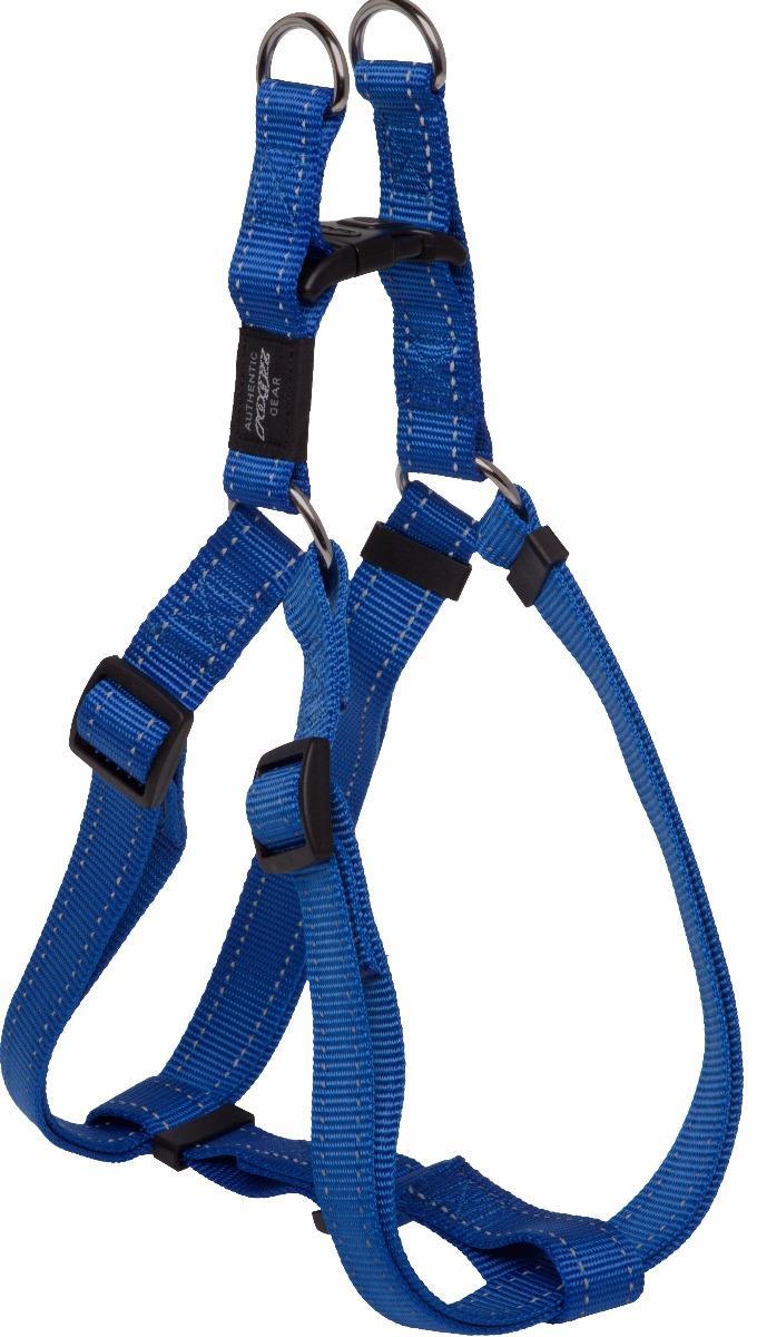 Rogz Utility Lumberjack Extra Large Step-In Dog Harness Blue
