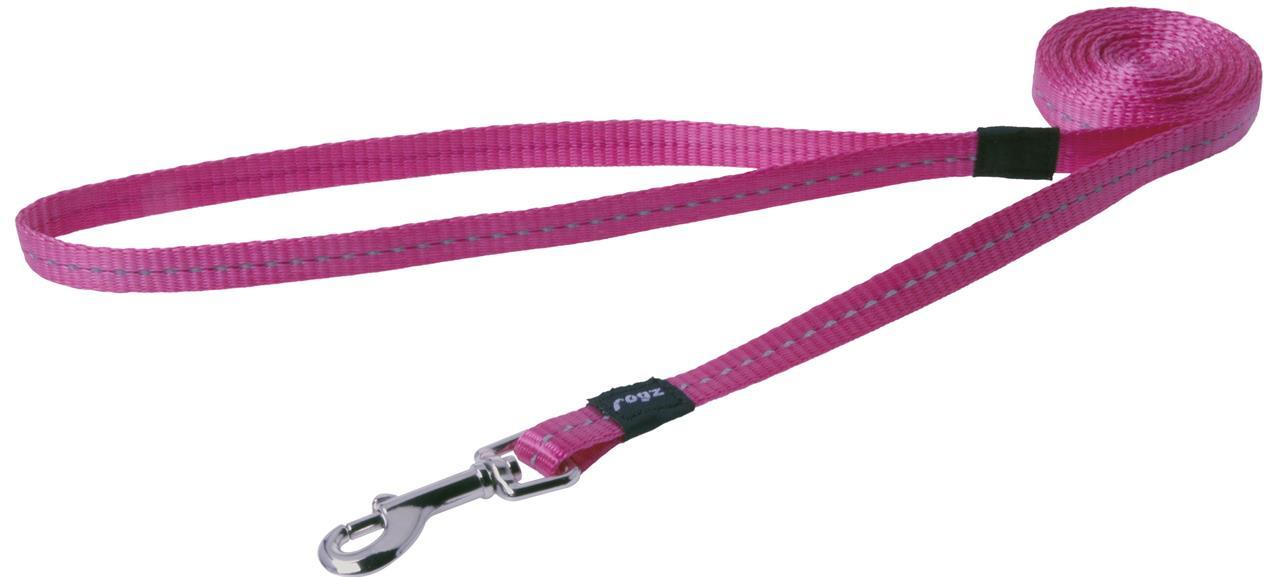 Rogz Utility Nitelife Small Dog Lead Pink