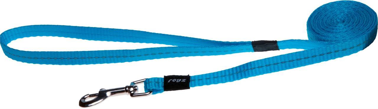 Rogz Utility Nitelife Small Dog Lead Turquoise
