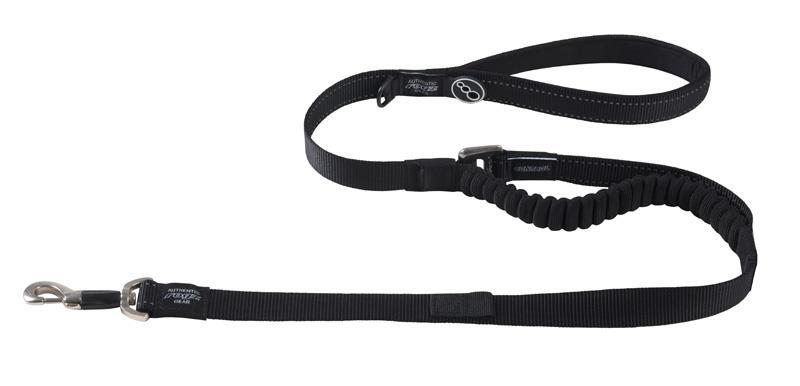 Rogz Utility Snake Control Dog Lead 1.4m Black