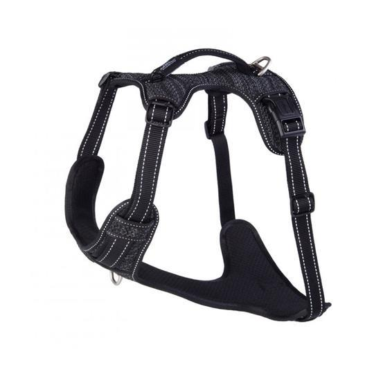 Rogz Utility Snake Medium Explore Dog Harness Black