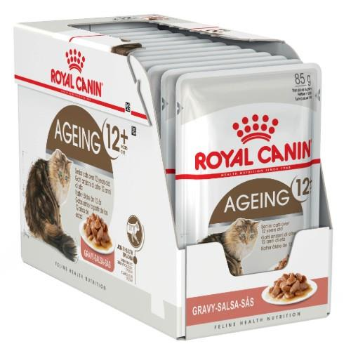 Royal Canin Ageing 12+ Years in Gravy 12 x 85g