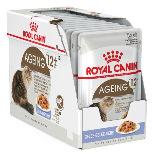 Royal Canin Ageing 12+ Years in Jelly 12 x 85g