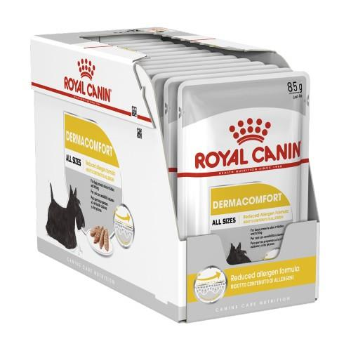 Royal Canin Dermacomfort Loaf Pouches 12 x 85g
