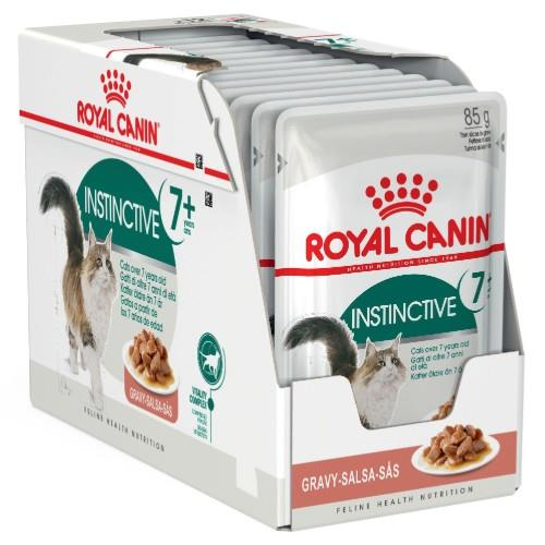 Royal Canin Feline Instinctive 7+ Years in Gravy 12 x 85g