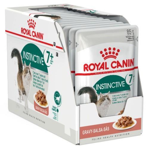 Royal Canin Feline Instinctive 7+ Years in Gravy 12 x 85g