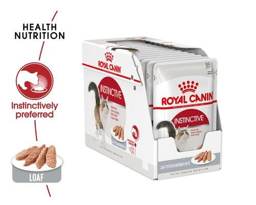 Royal Canin Instinctive Cat Loaf 12x85g Pouches