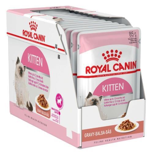 Royal Canin Kitten Instinctive in Gravy 12 x 85g
