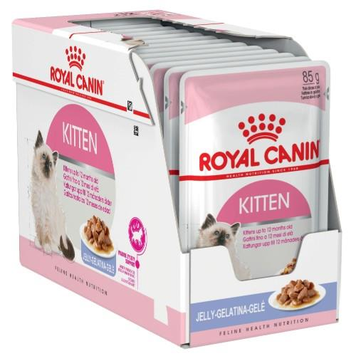 Royal Canin Kitten Instinctive in Jelly 12 x 85g