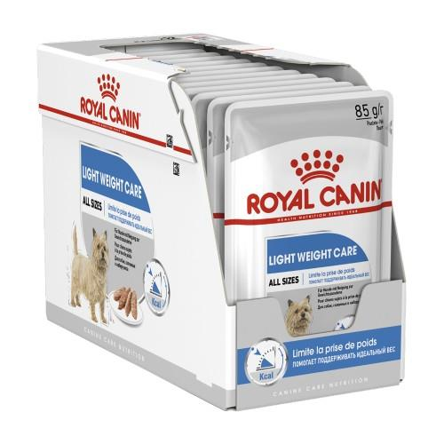Royal Canin Light Weight Care Loaf Pouches 12 x 85g