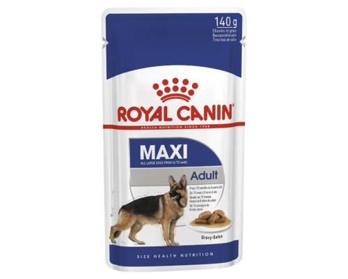 Royal Canin Maxi Adult Wet Food Gravy Pouch 140g