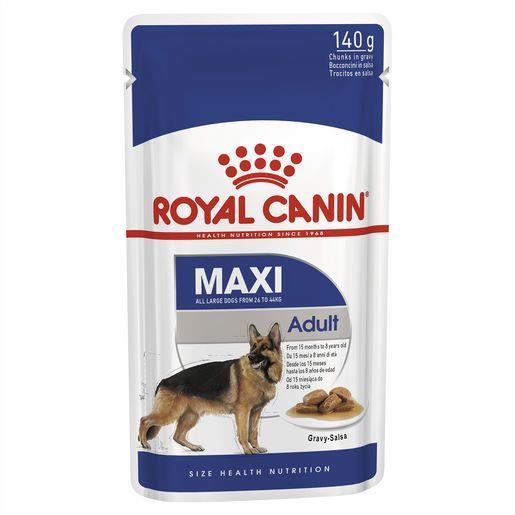 Royal Canin Maxi Adult Wet Food Pouches 10x140g