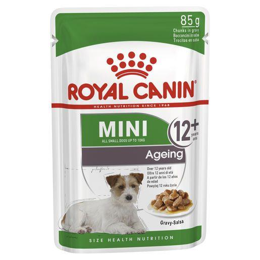 Royal Canin Mini Ageing 12+ Wet Food Pouches 12x85g