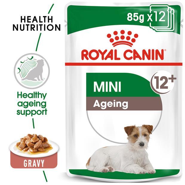 Royal Canin Mini Ageing Senior Wet Dog Food 4 X 12 X 85g