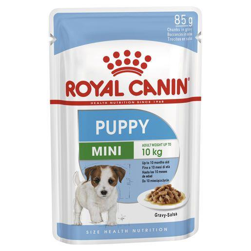 Royal Canin Mini Puppy Wet Food Pouches 12x85g